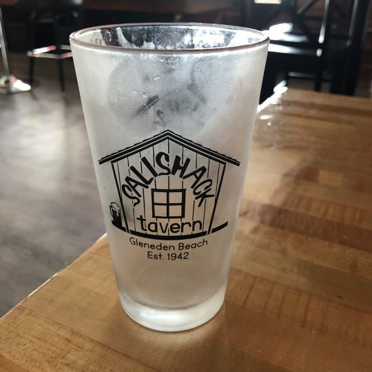 Salishack Tavern Pint Glass